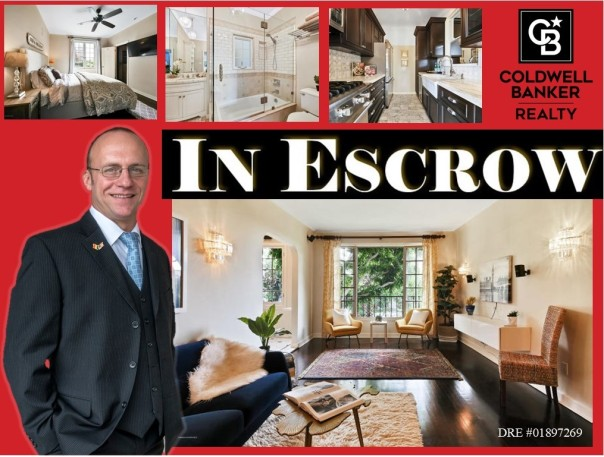 in escrow 1345 N Hayworth Ave 101 WEHO facebook